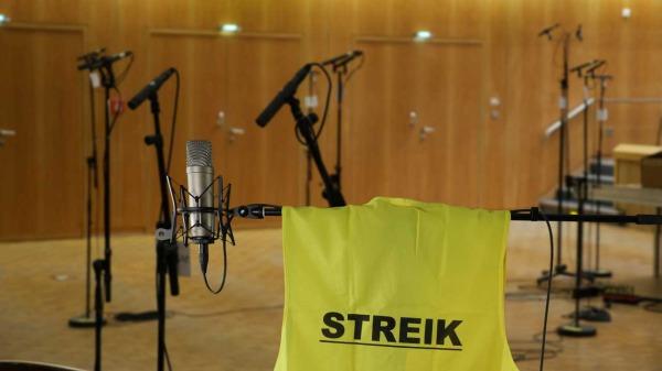Streik beim Rundfunkchor Berlin!