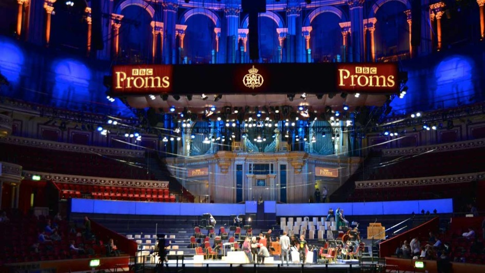 Royal Albert Hall, London, BBC Proms, Probe Matthäuspassion