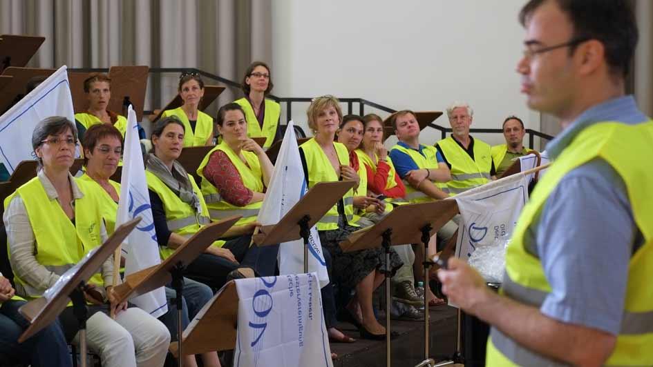 Streik Rundfunkchor Berlin Chorversammlung