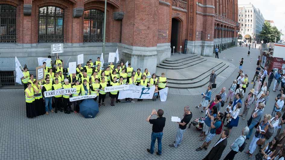Streikkonzert vorm Roten Rathaus (1)