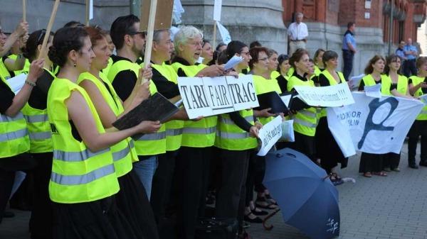 Streikkonzert vorm Roten Rathaus (2)